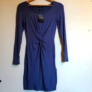 Nwt Forever 21 front knot dress